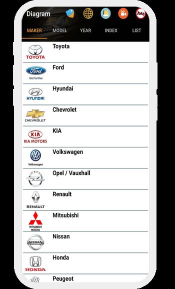 app câblage électrique voiture