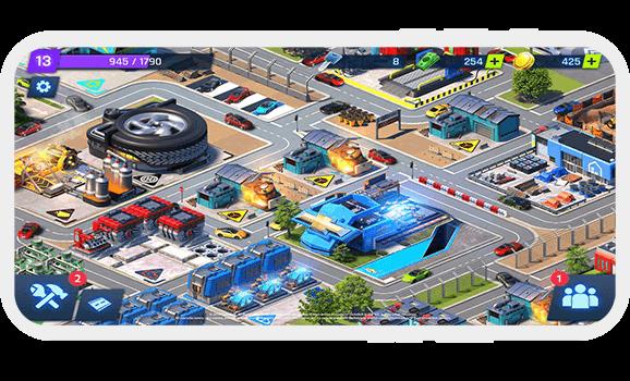 Jeux de ville voiture