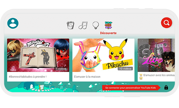 Application vidéo pour enfant
