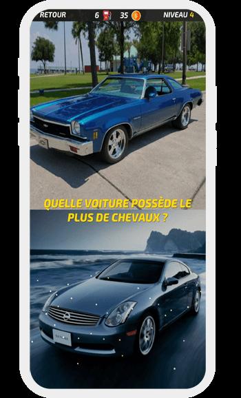 Jeux connaissance voiture