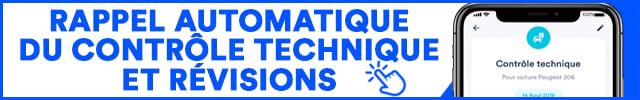Application notification contrôle technique rappel