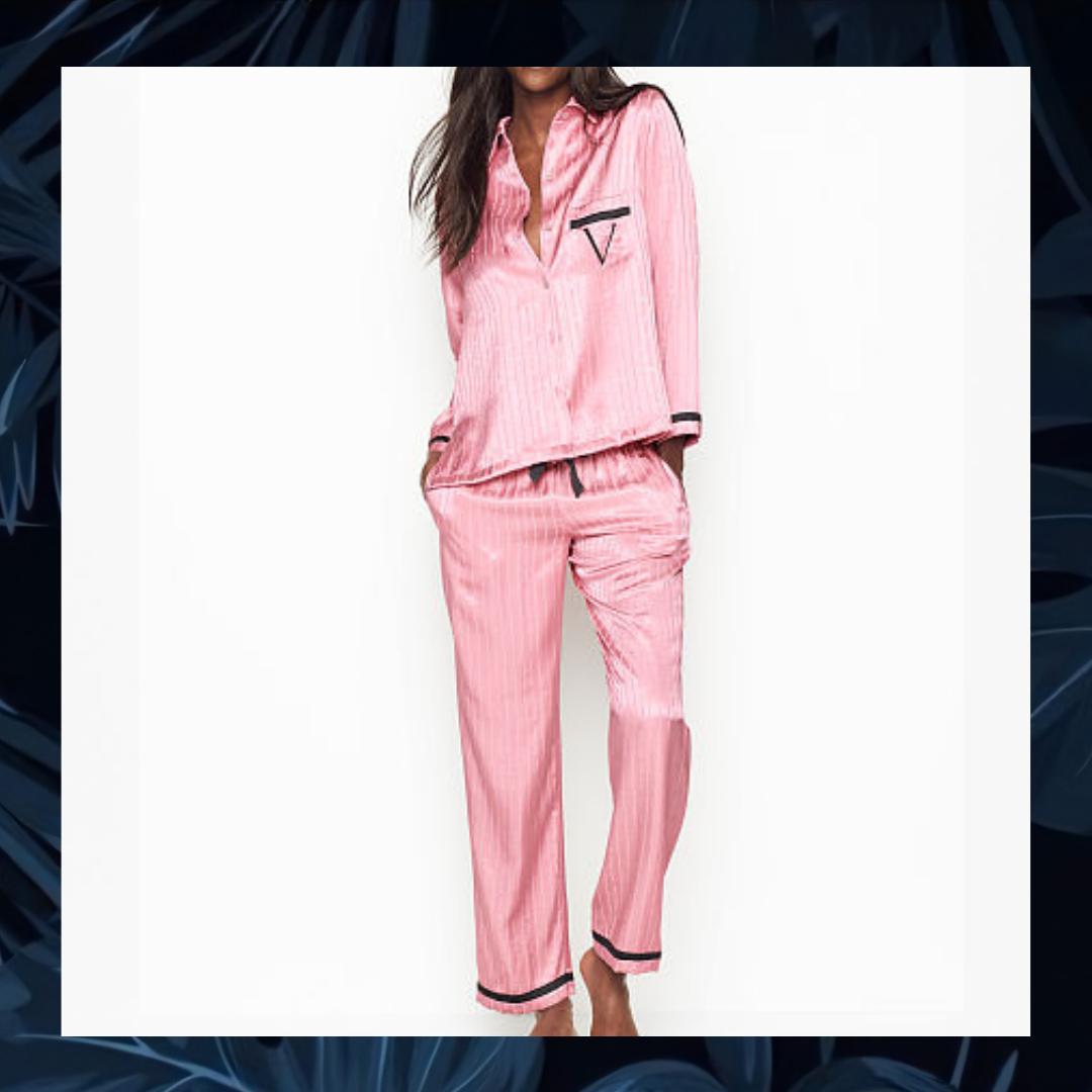 Pijama Victoria S Secret Satin