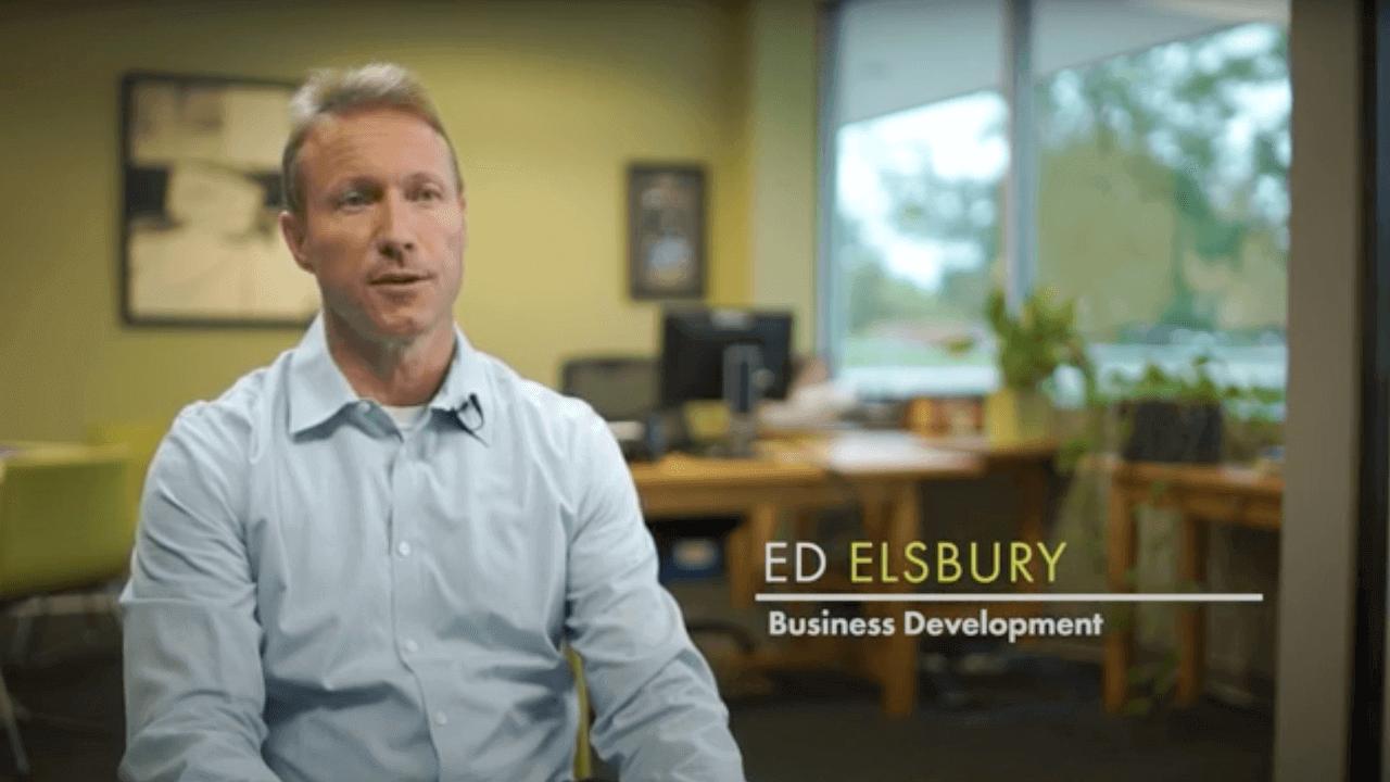 Employee story: Ed Elsbury