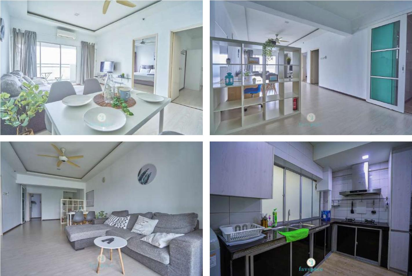 interior shots of a condominium unit