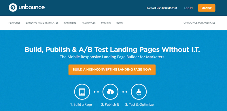 value proposition unbounce example