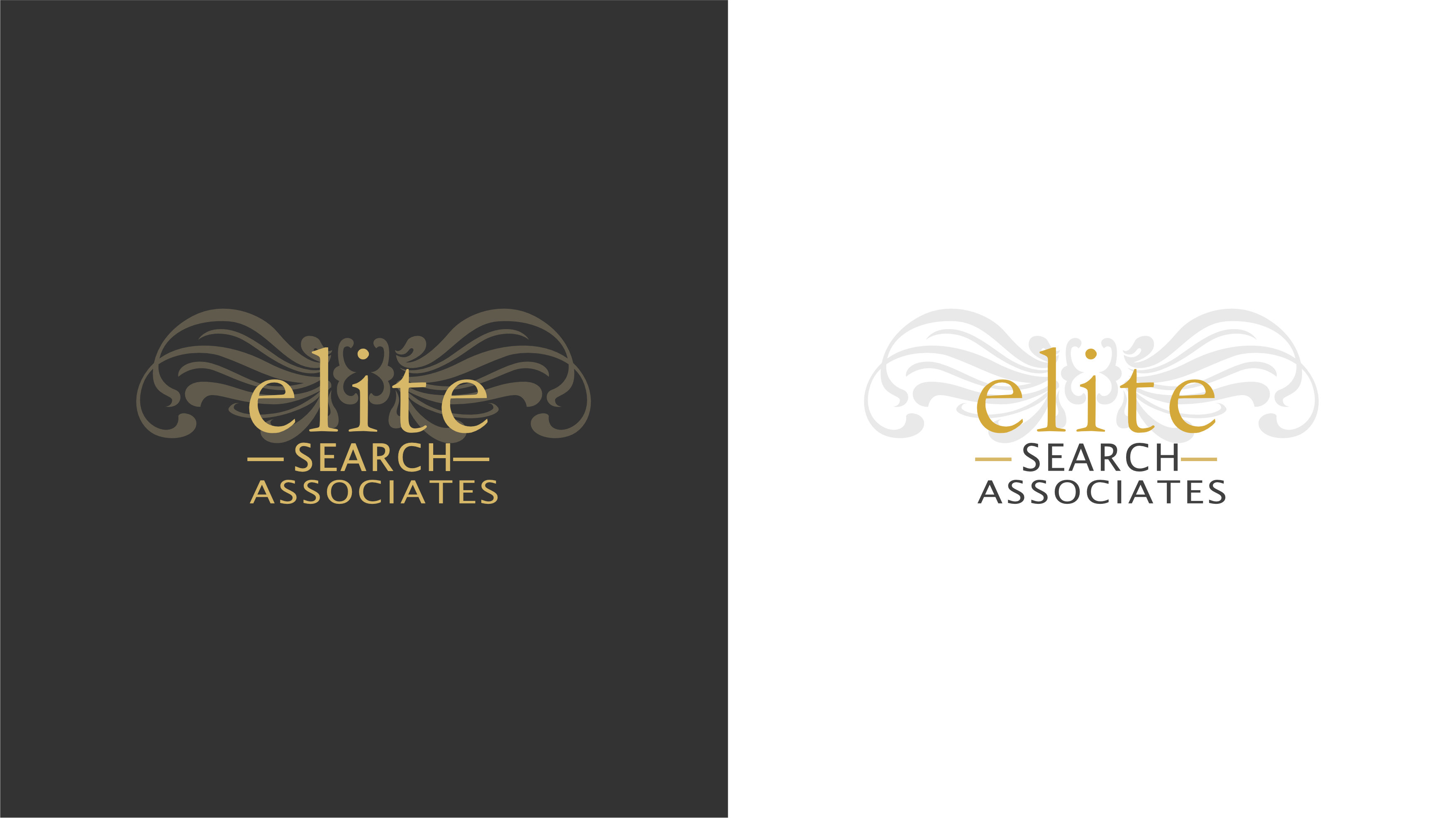 Recruitment consultant branding logo de