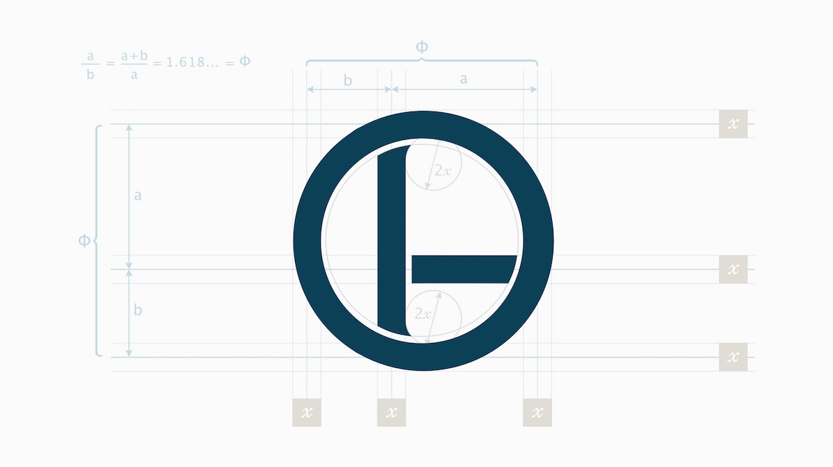Dao Design logo grid layout