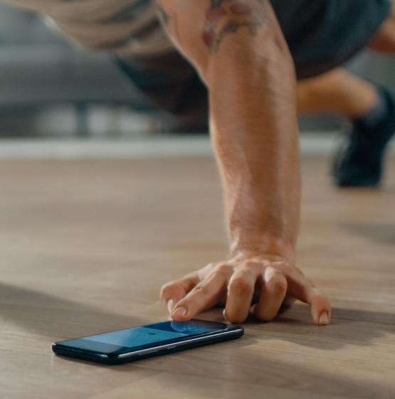AI fitness training plan