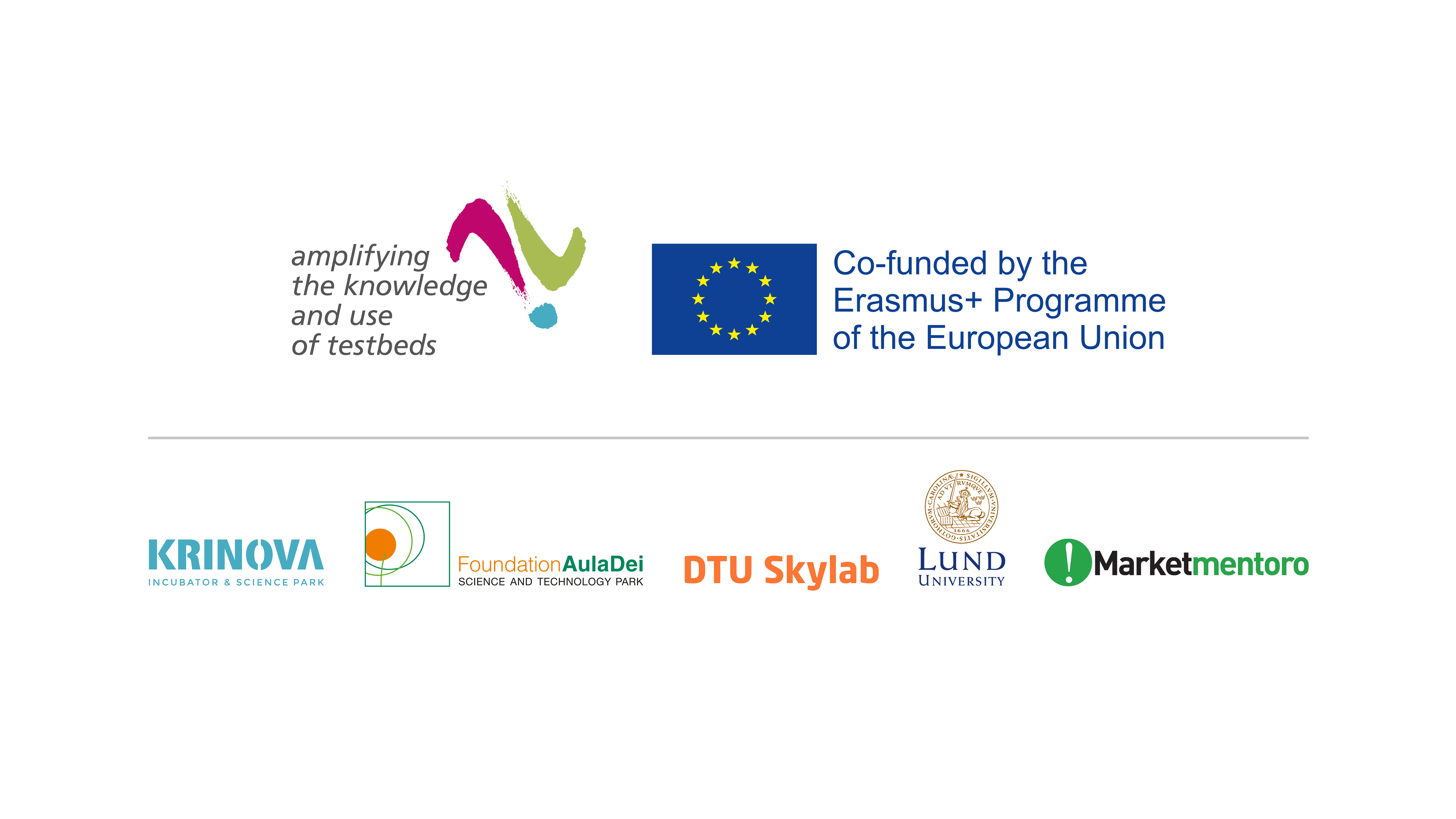 Erasmus+ Programmed and partner logos