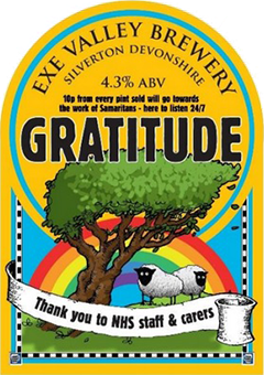Gratitude pump clip illustration