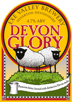 Devon Glory pump clip illustration