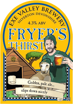 Fryer's Thirst pump clip illustration