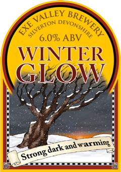 Winter Glow pump clip illustration