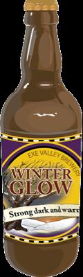 Winter Glow bottle illustration