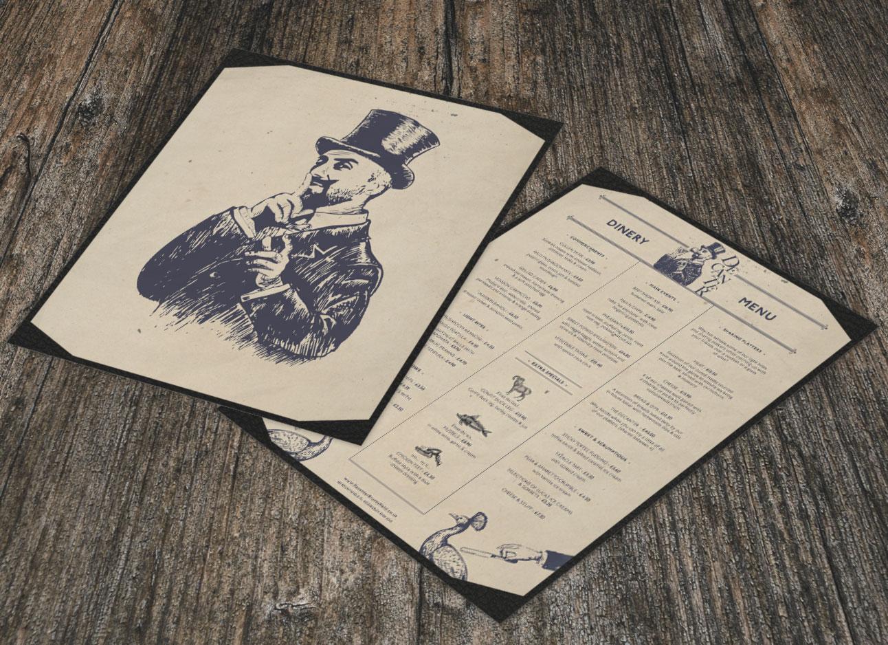 Decanter Bruntsfield menu