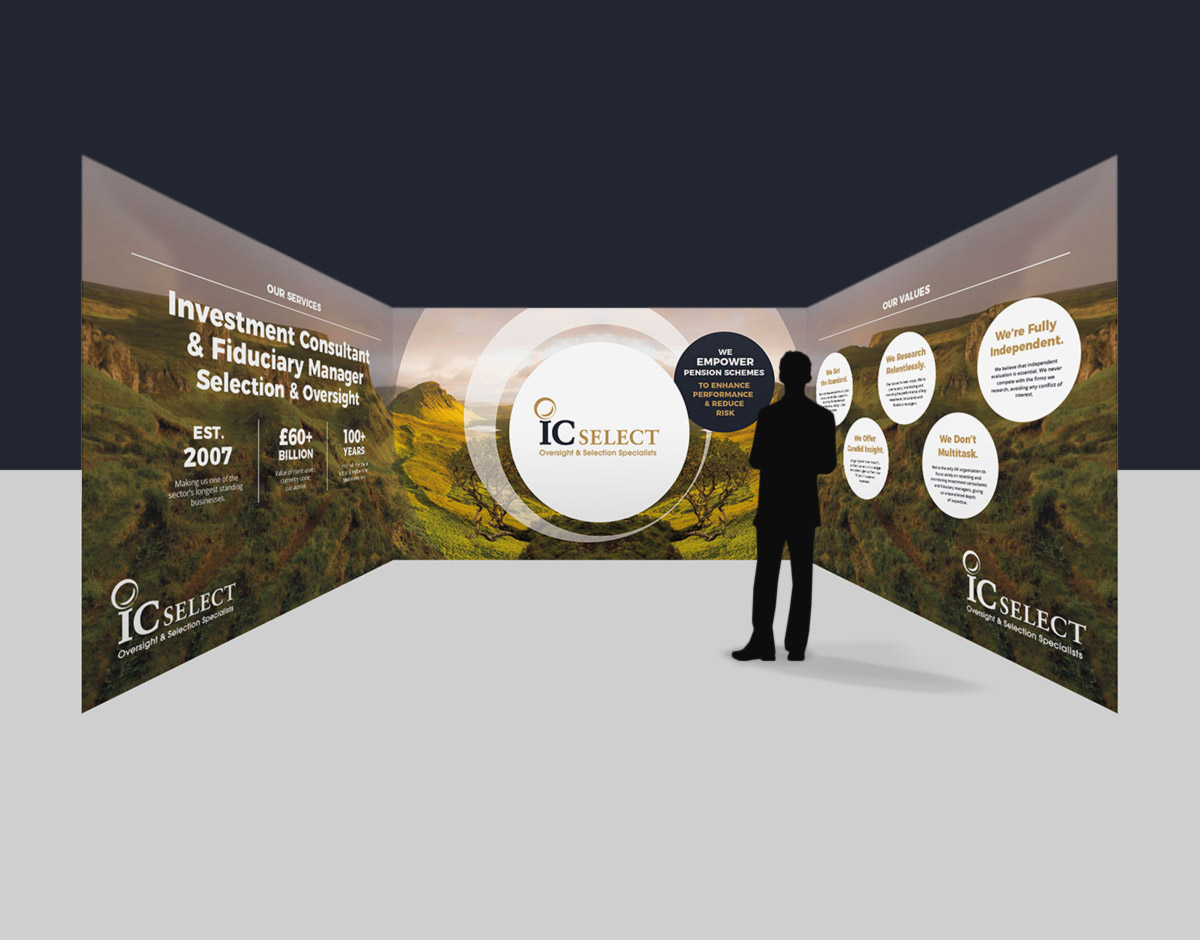 IC Select exhibition stand