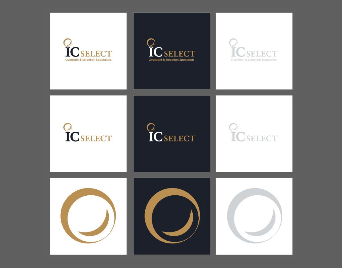 IC Select logo versions