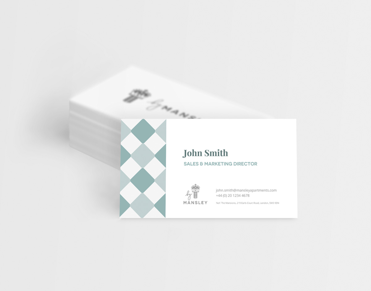 Mansley business card