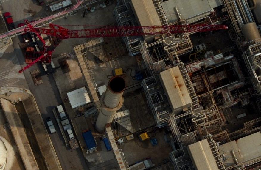 Oil refinery sample image