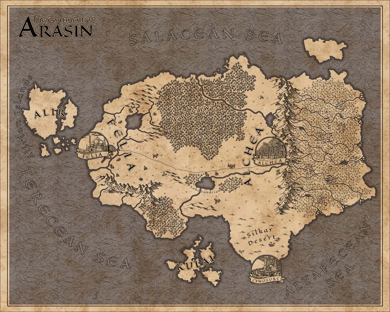 A Map for Voice of War