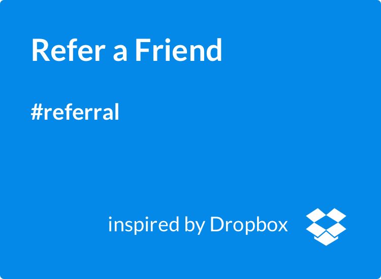 Refer a Friend Viral Loops referral template