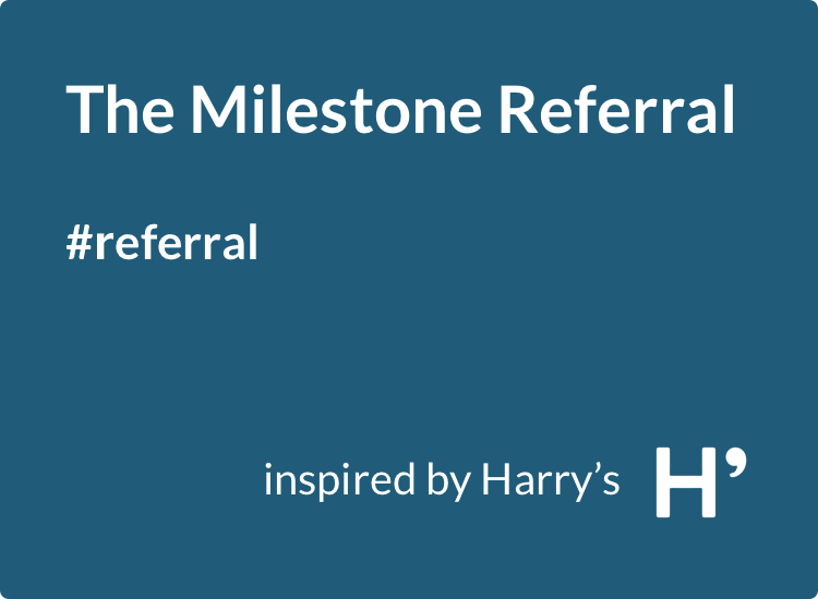 Milestone Viral Loops referral template