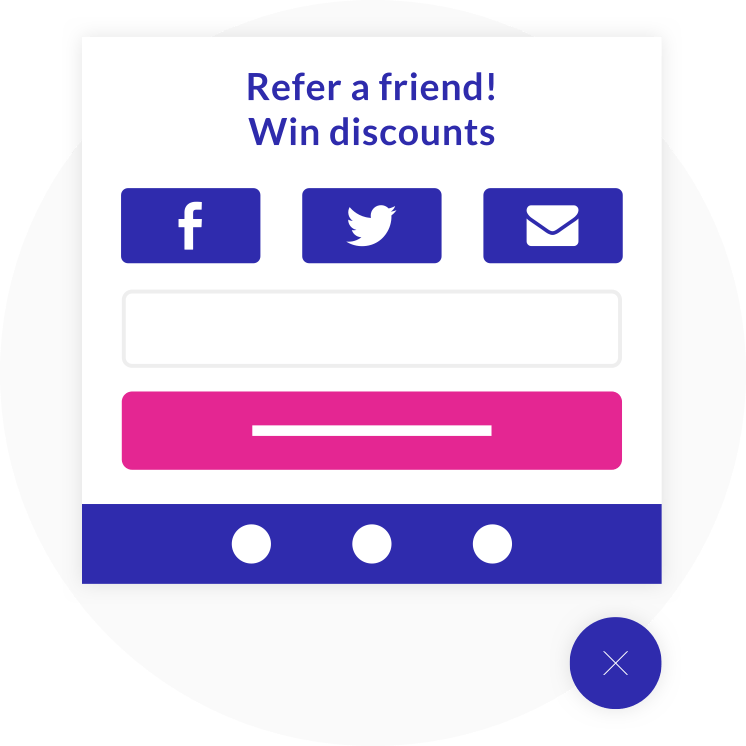 eCommerce Viral Loops referral template
