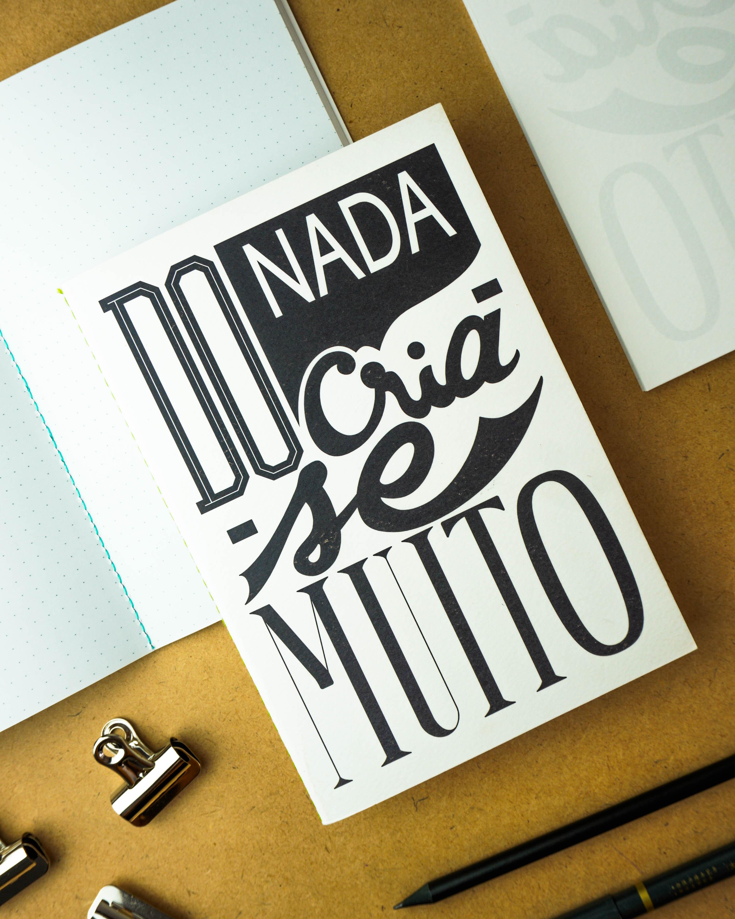Notebook Do Nada Cria-se Muito
