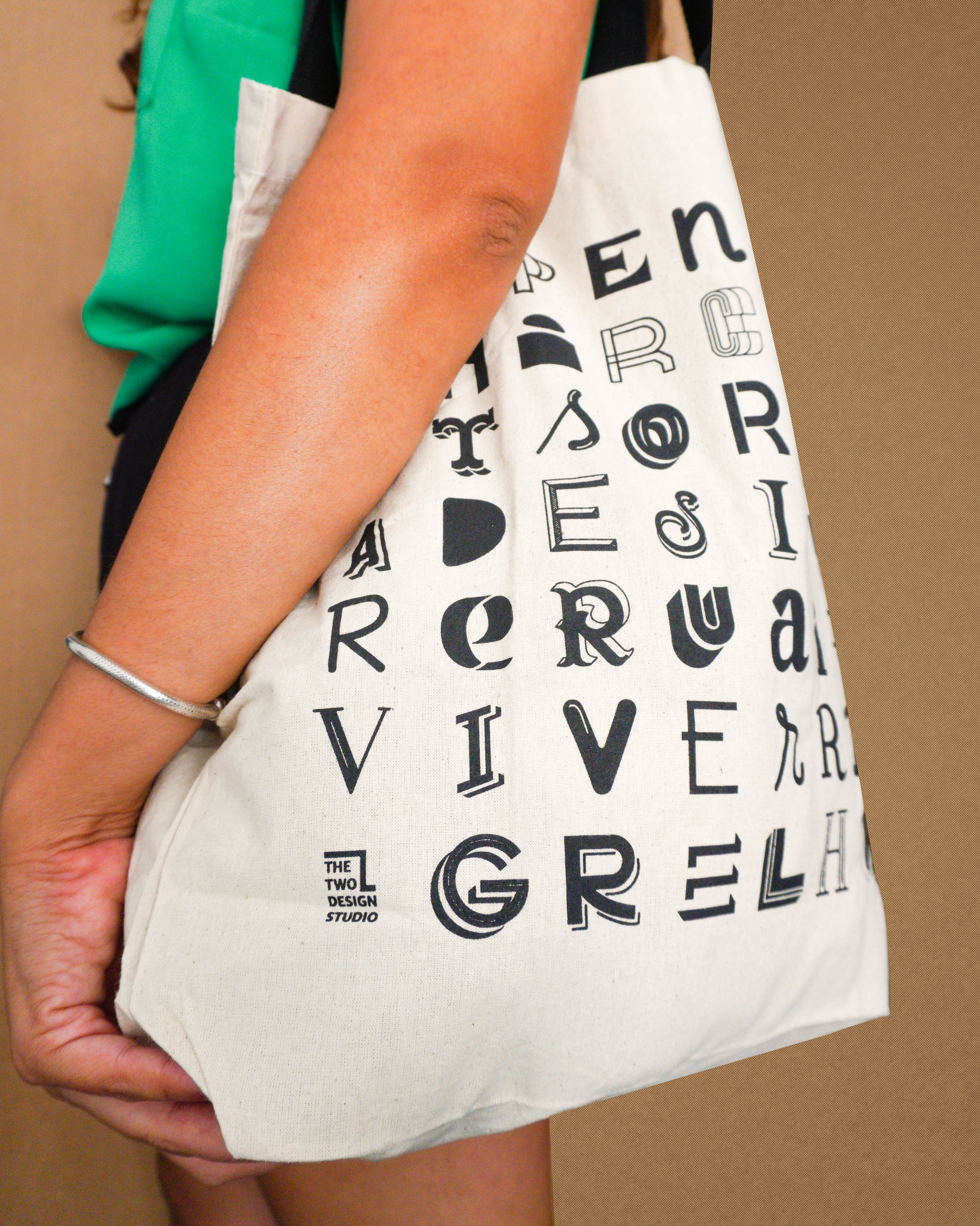 Daily Letter Soup Tote Bag