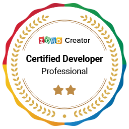 Zoho Creator Certified Developer Symbol