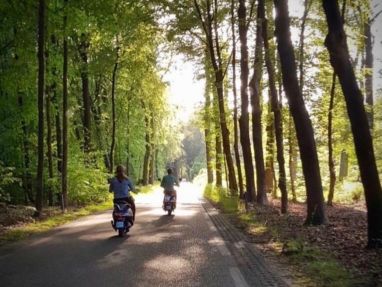 Scooter rijden in Doetinchem