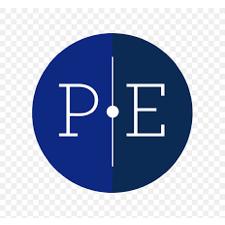 P & E logo