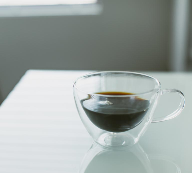 Photo of a cup of coffee