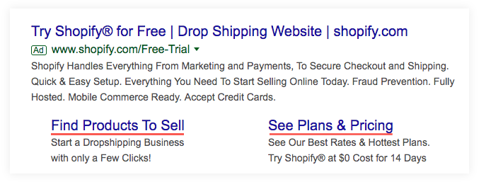 Google Ad for Shopify
