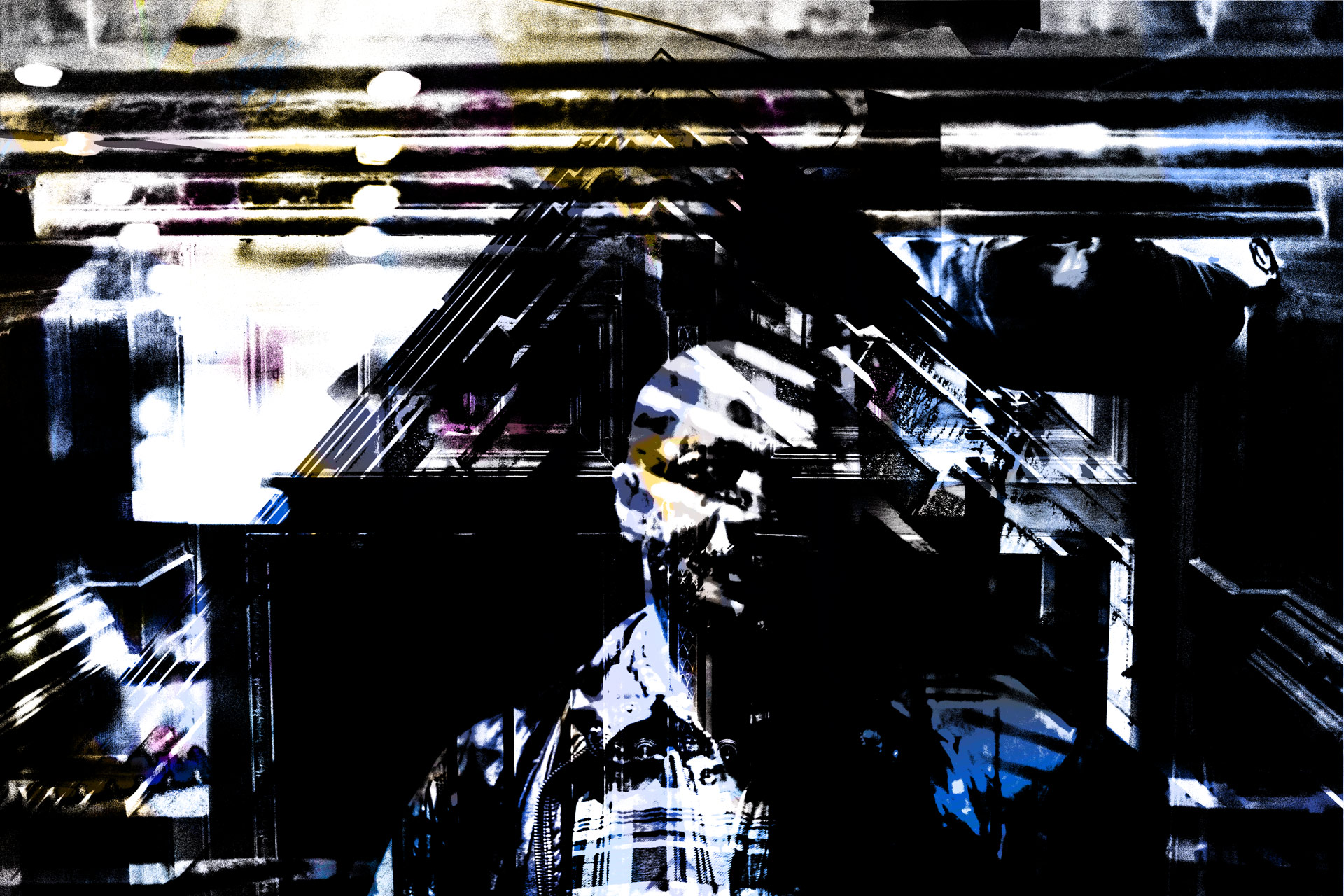 Am-I-Somewhere • 180 x 120 cm (70.86 x 47.24 in)
