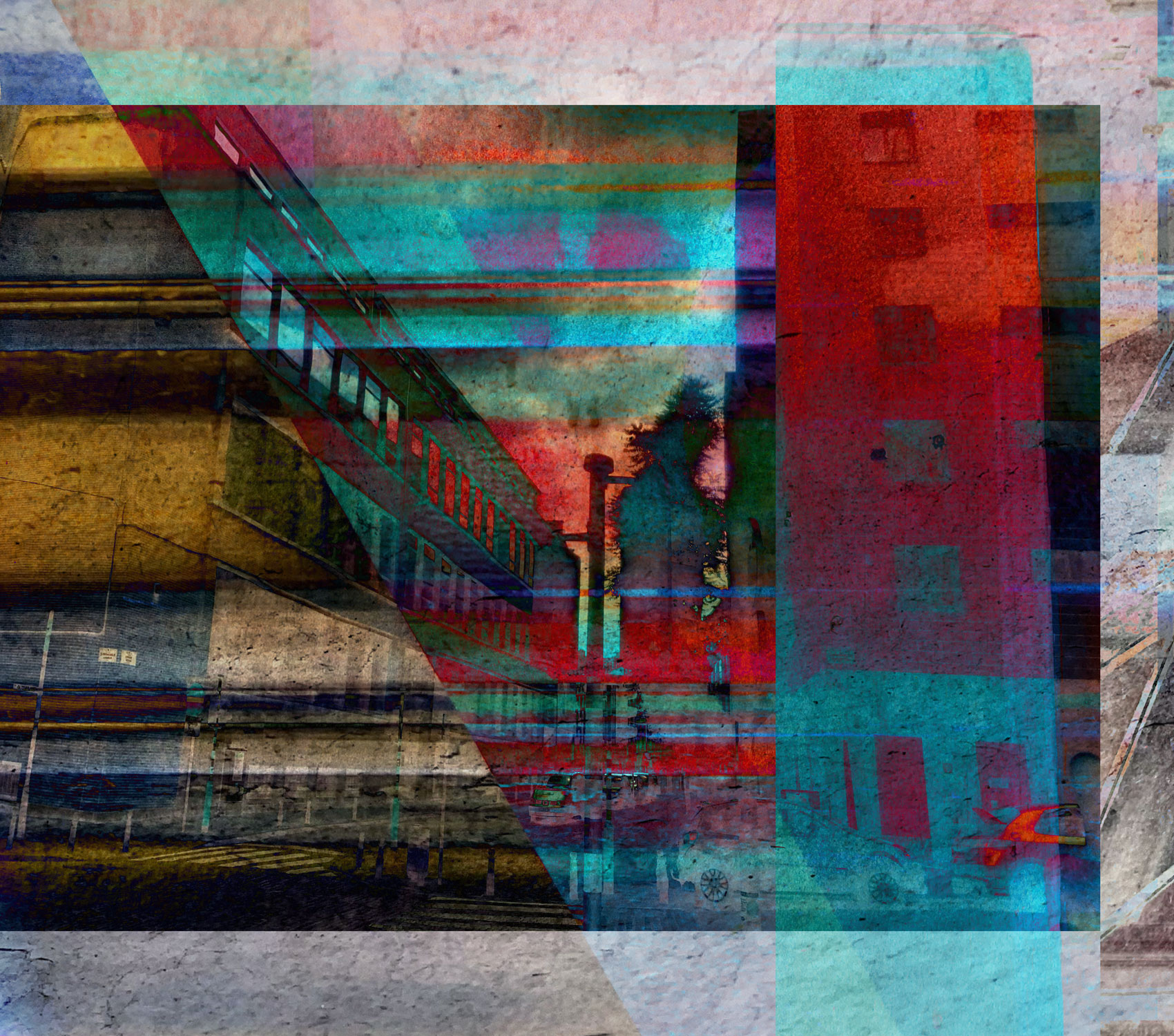(20) Fragment 161 •75 x 66 cm (29.52 x 23.62 in)