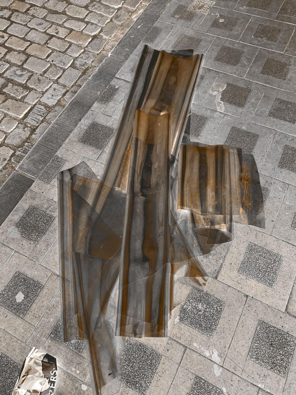 Lost & Found - Pimped Garbage 04 • 52.5 x 70 cm (20.67 x 27.56 in)