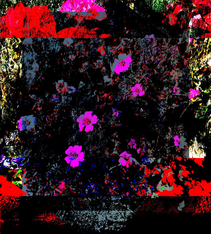 Bouquet  • 90 x 100 cm (35.43 x 39.37 in)
