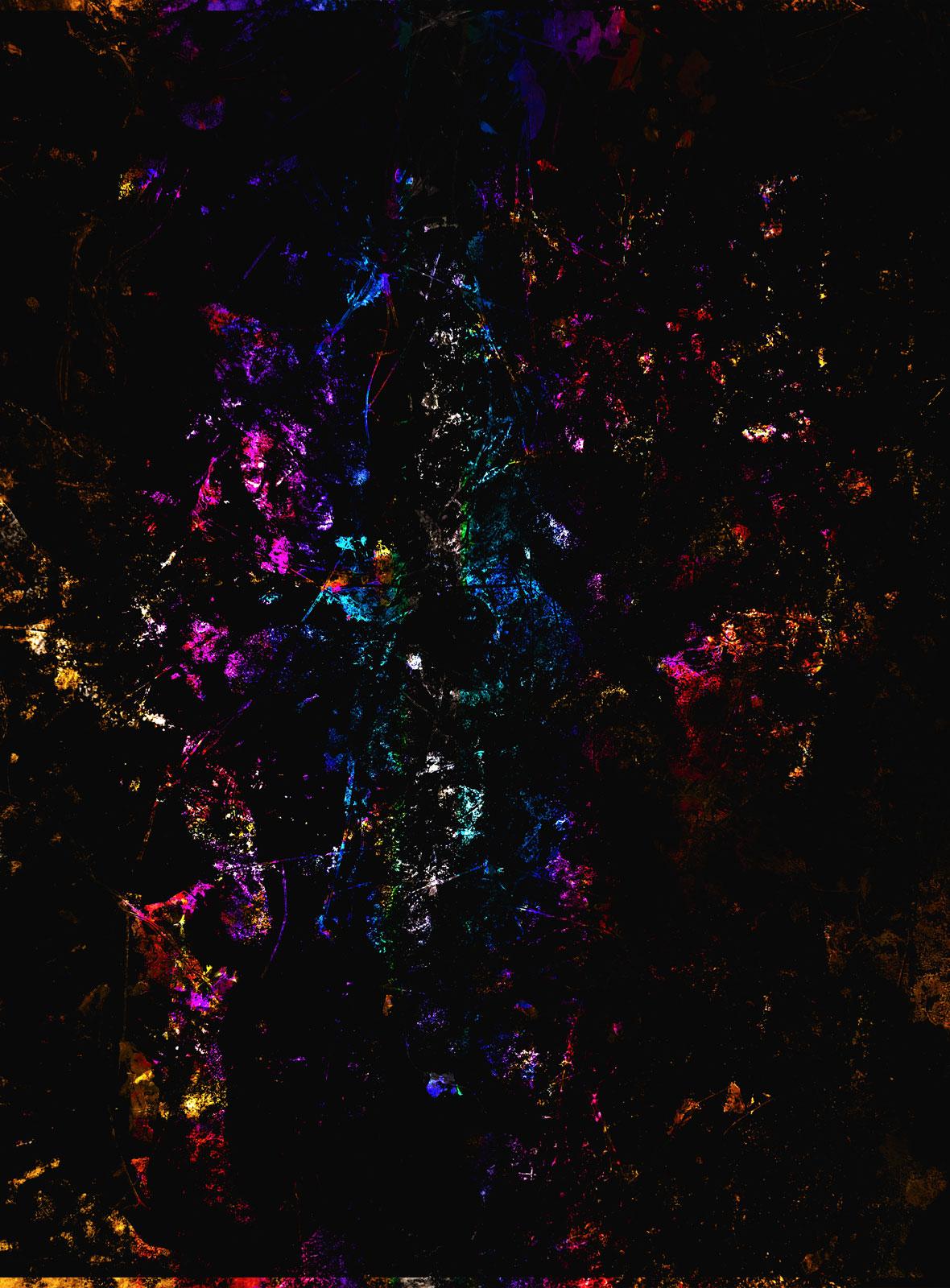 Elemental Frost N10 - The Butterfly • 90 x 122 cm (35.43 x 48.03 in)