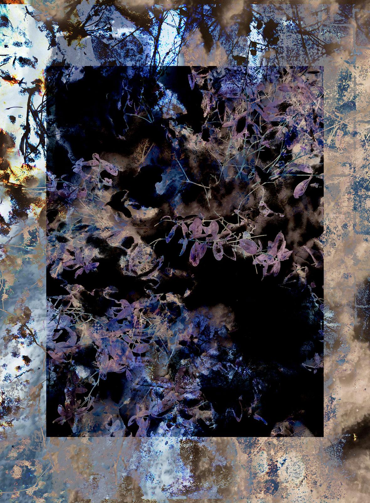 Elemental Frost N09 - Neuron • 90 x 122 cm (35.43 x 48.03 in)