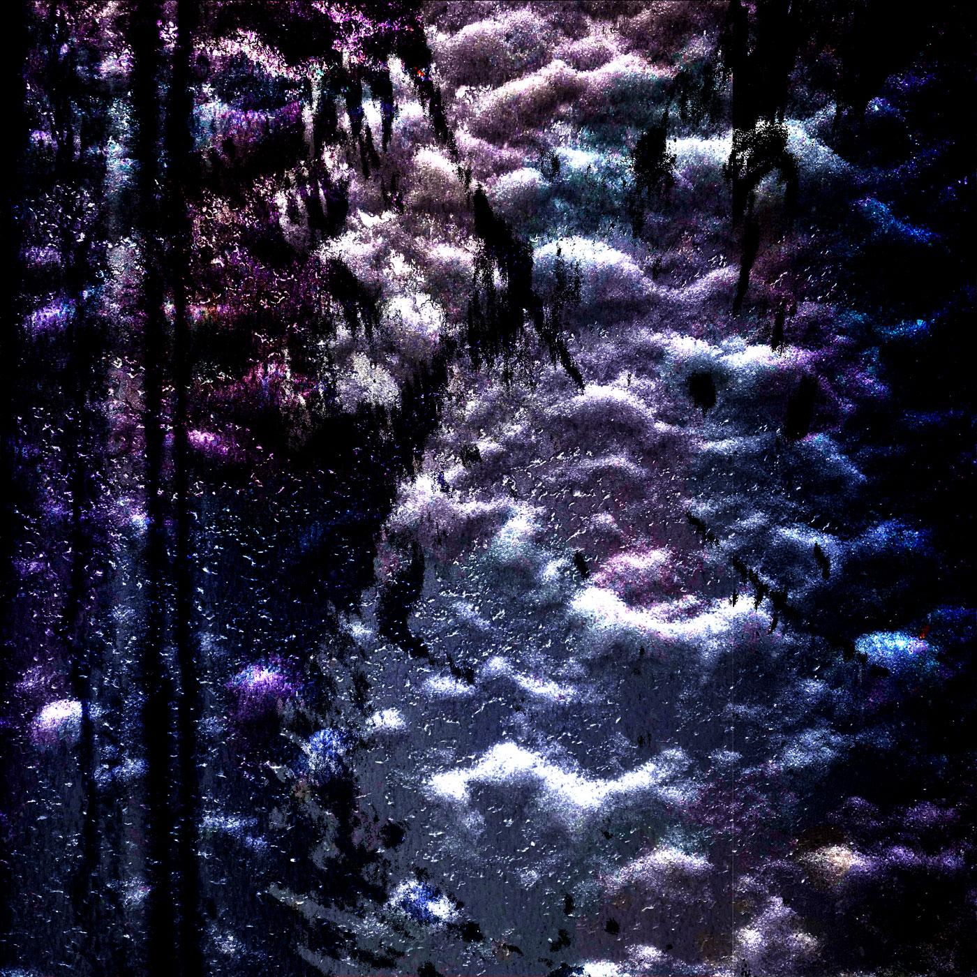 Elemental Frost N05 - Stars • 90 x 90 cm (35.43 x 35.43 in)
