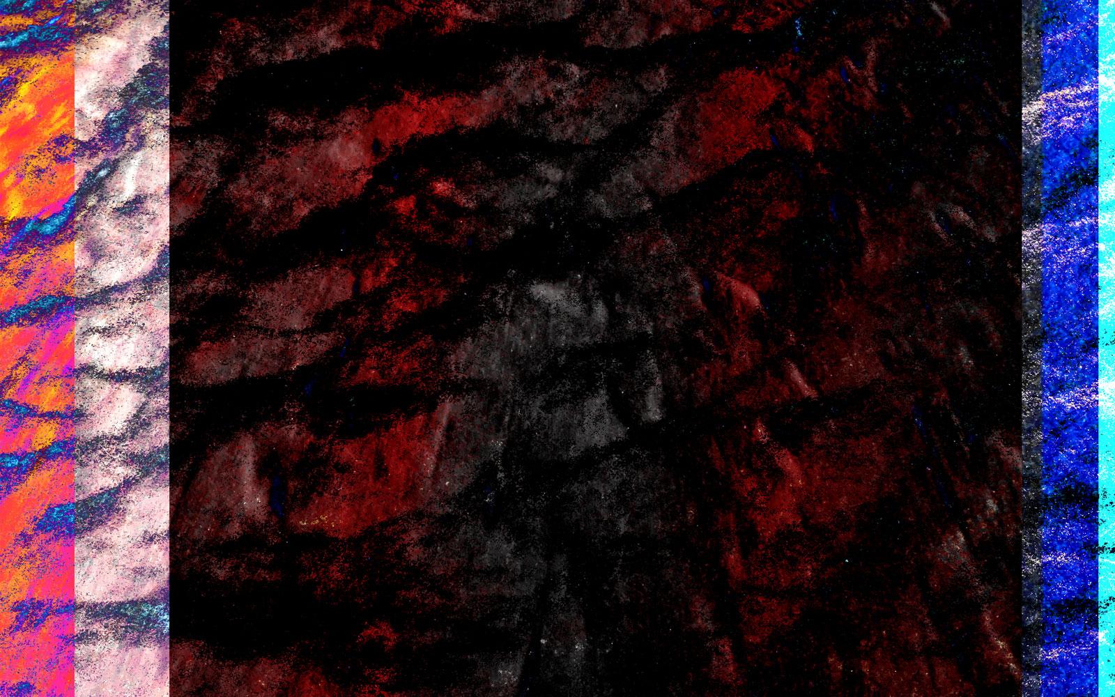 Elemental Frost N01 - Forrest • 120 x 75 cm (47.2 x 29.53 in)