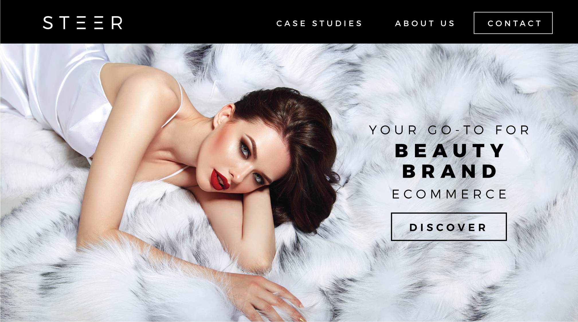 luxury brand identity logo design for beauty ecommerce