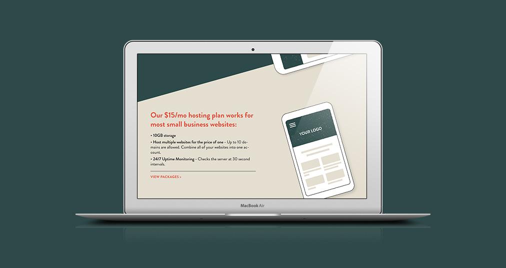Keeping Websites Real Brand Identity secondary logo fox custom illustration website mockup page 2