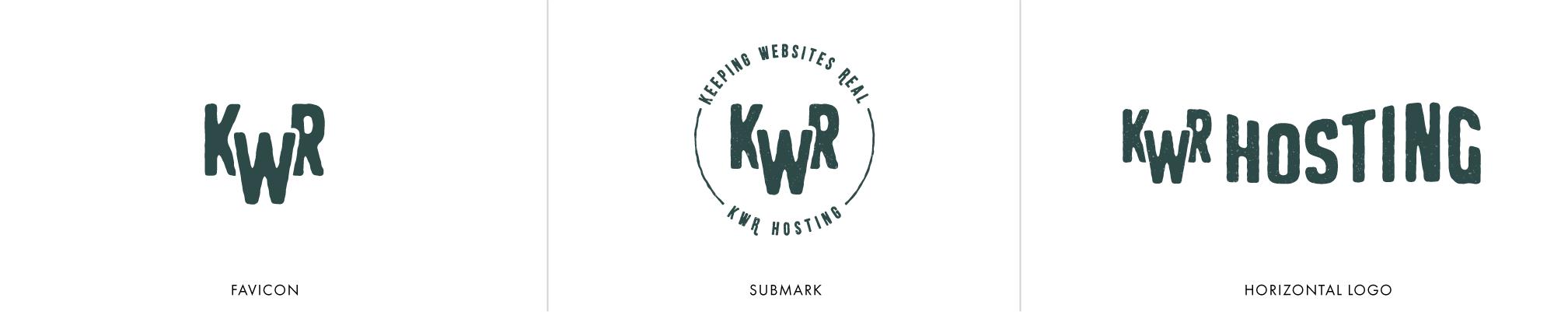 Keeping Websites Real Brand Identity alternate logos