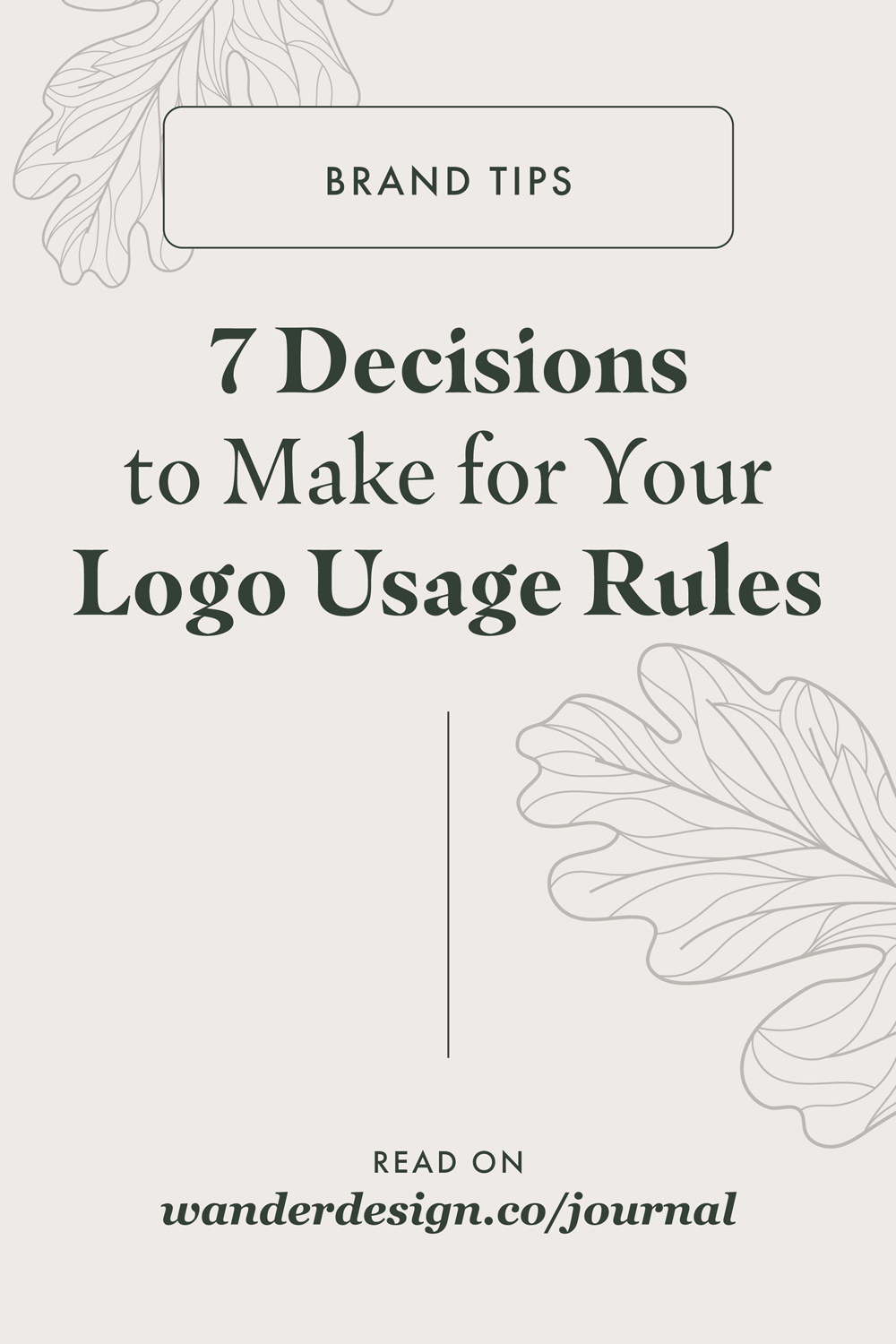 7 Decisions to Make for Your Logo Usage Rules