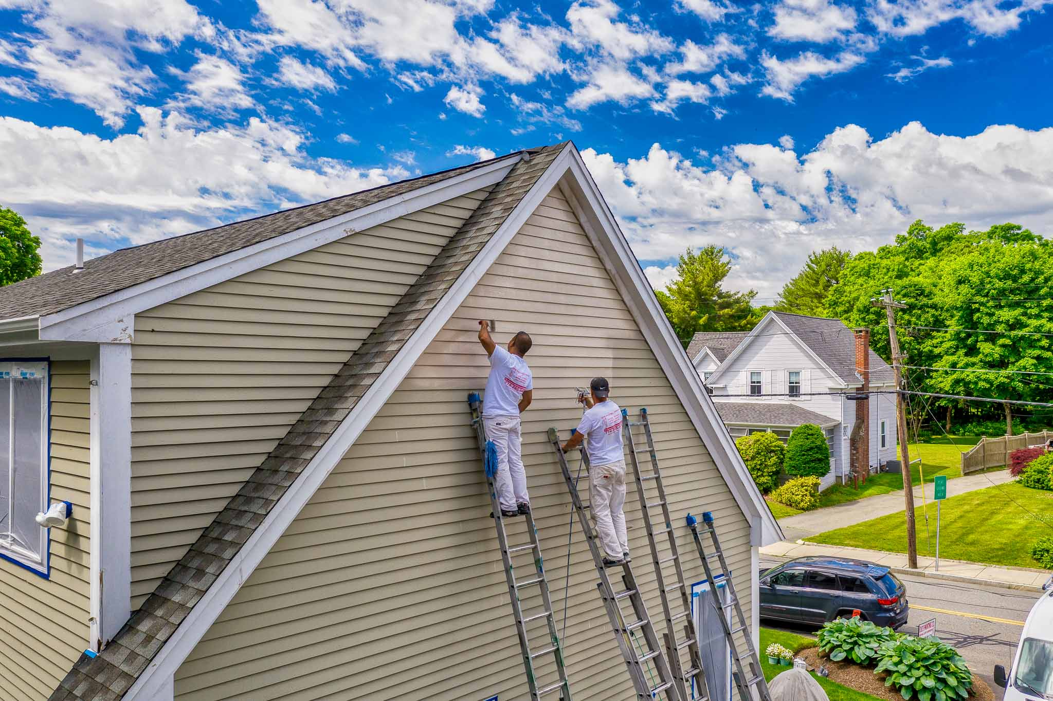 Jose Painting Company - Exterior House Painting Easton