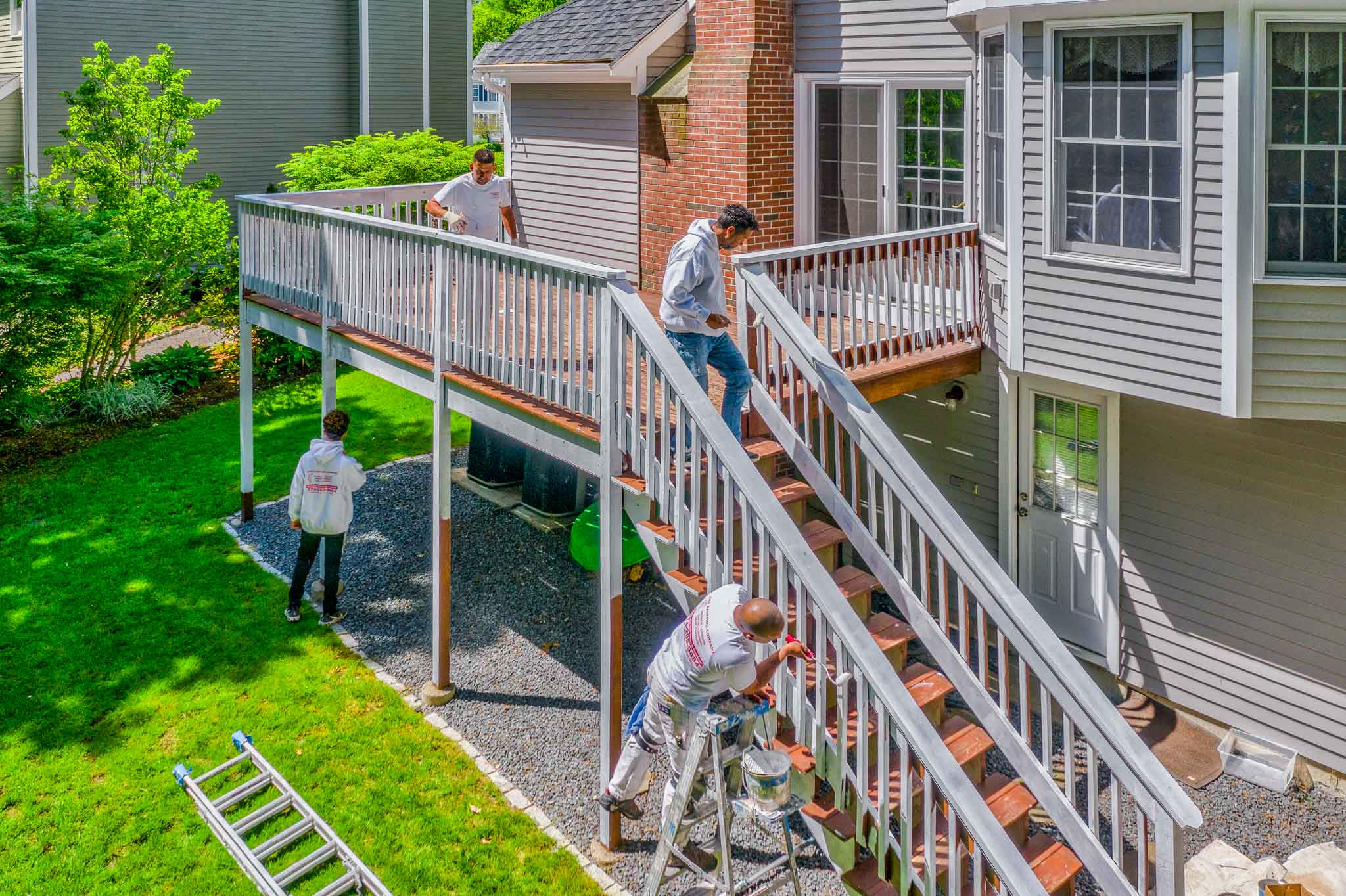 Exterior Deck Painting