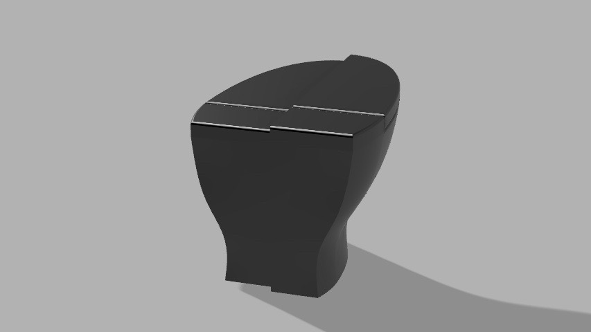 Fusion render of final design.