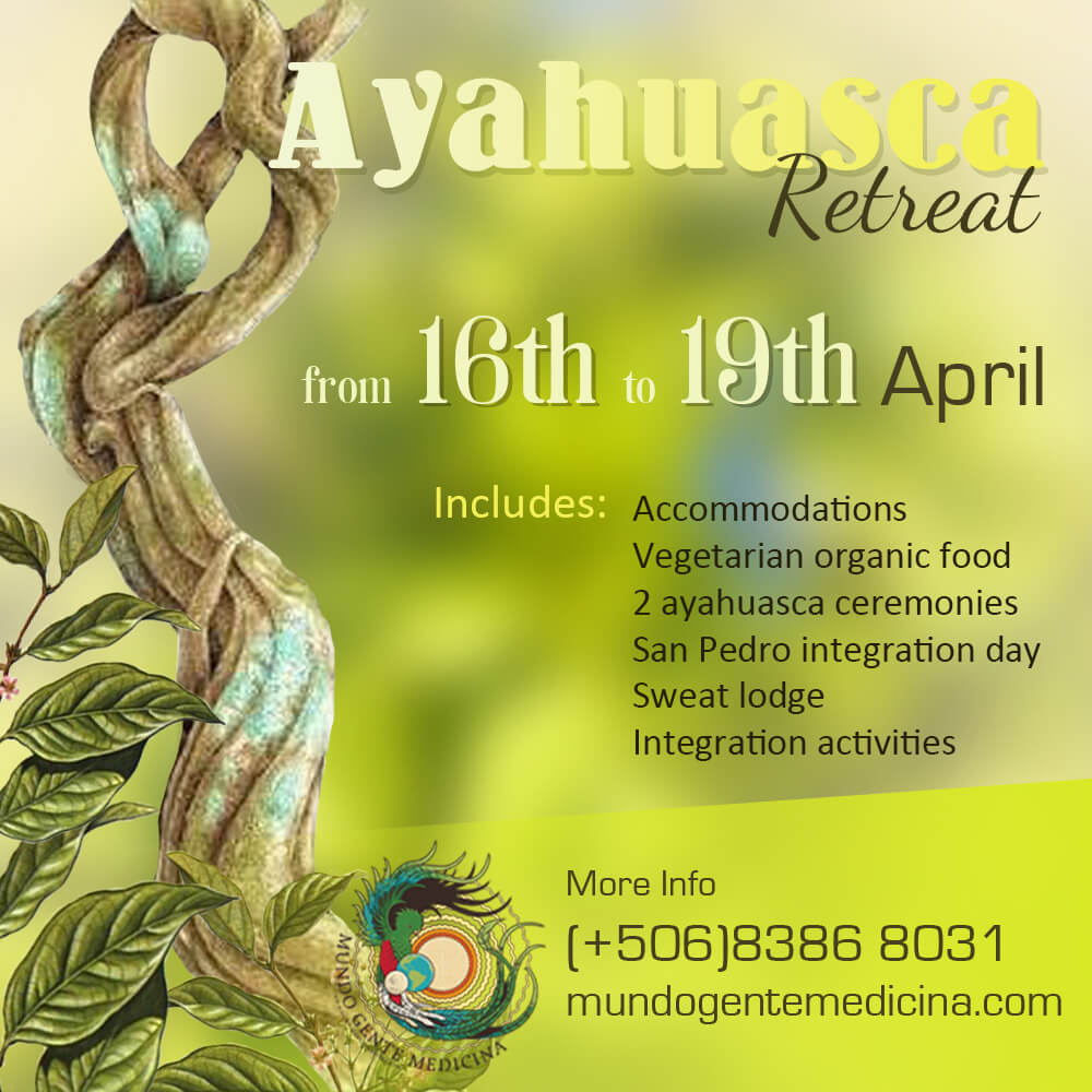 Ayahuasca Retreat April 2021